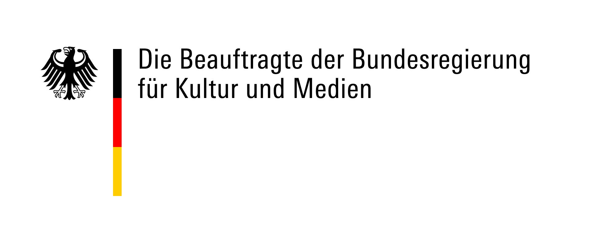 Bundesregierung Kultur u Medien logo