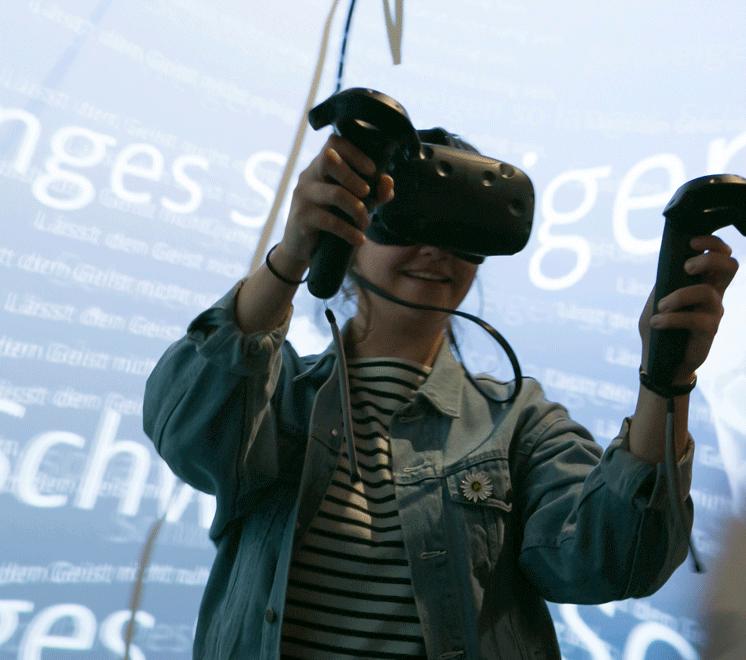 MOTYF Akademos Ausstellung Santa Rhei VR Installation IMG